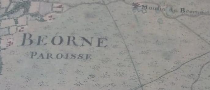 Beorne toponymie