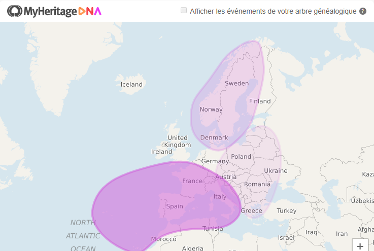 My heritage dna