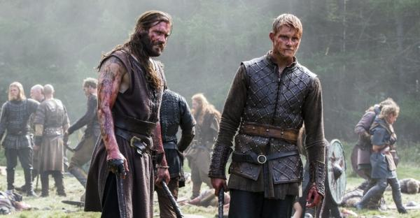 Rollo and bjorn of vikings